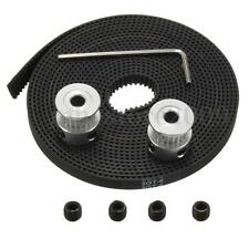 3M GT2 Timing Belt & 2PCS Timing Pulley 20T Bore 5mm 3D Printer For RepRap Prusa