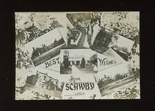 Lincolnshire Lincs SCAWBY M/view c1900/10s? RP PPC slightly cut down