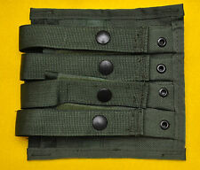 US Army  OD Quad Magazine pouch for 4  9mm mags MOLLE