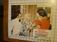 Vintage Lobby card: 1973 TALES THAT WITNESS MADNESS # 4, Kim Novak, Joan Collins