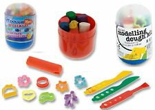 19 PCS CHILDRENS KIDS PLAY DOUGH DOH CRAFT MOULDING SHAPES AND CUTTER TOY
