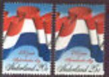 Nederland  1010-1011 vlaggen 1972 luxe postfris