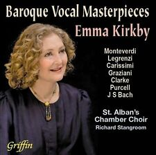 Emma Kirkby - Baroque Vocal Masterpieces [CD New]