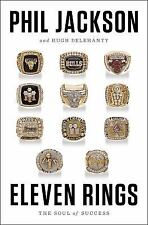 T5 - Eleven Rings : The Soul of Success by Phil Jackson - **Brand New HC/DJ book