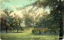 A View of Dudley Waters' Lawn & Residence, Grand Rapids MI