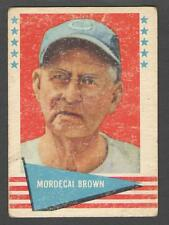 1961 Fleer #11 Mordecai Brown