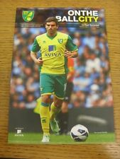 06/08/2013 Norwich City v Real Sociedad [Friendly] & 2013/2014 Official Handbook