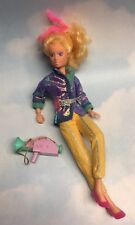 Jem & the Holograms VIDEO doll, Camera, clothes & shoes vintage Hasbro 1980s 12""