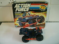 VINTAGE 1987 BOXED ACTION MAN ACTION FORCE COBRA FERRET COMPLETE ATV 4WD VEHICLE
