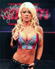 ANGELINA LOVE TNA SIGNED AUTOGRAPH 8X10 PHOTO W/ PROOF & COA