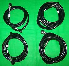 1999-2002 Volkswagen Cabrio Convertible hydraulic Hose Set - 4 Hoses - Brand New