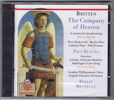 BRITTEN BUNYAN CD NEW BRUNELLE ENGLISH CHAMBER ORCHESTRA
