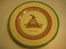 "VILLEROY & BOCH FESTIVE MEMORIES TREATS HOUSE & GARDEN ""FRUIT CHANTILLY"" PLATE"