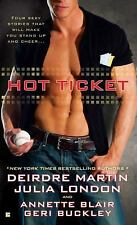 Hot Ticket (Berkley Sensation)-ExLibrary