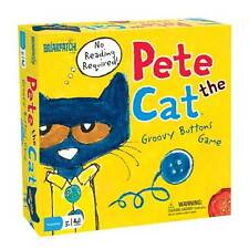 PETE THE CAT GROOVY BUTTONS GAME BRIARPATCH KIDS & FAMILY BOARD GAME