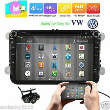 "For VW Golf Passat Jetta 8"" Android 6.0 Car Radio GPS Navi Bluetooth Stereo RDS"