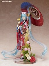 Stronger 1/8 Scale Figure Character Vocal Series 01 Hatsune Miku ~Hanairogoromo~