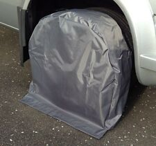 "TYRE PROTECTORS / TYRE COVERS (PAIR) FOR MOTORHOMES 15"" / 16"""