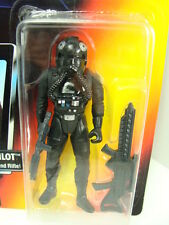 Star Wars 1995 Tie Fighter Pilot Figure on Red Card