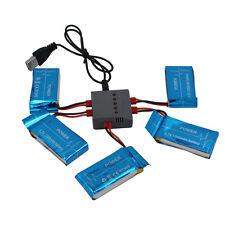 5x 3.7V 1200mAh batteria Lipo + 5 in 1 caricabatterie cavo per Syma X5HW X5HC RC
