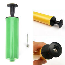 Inflator Hand Sports Air Pump Needle Ball Adapter For Football Basketball UK