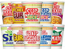 NISSIN CUP Noodle Variety For Limited Time 10types x 1each Set Japanese ramen