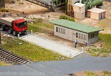 Faller 130172 H0 LKW-Waage mit Bürogebäude, Epoche III, Bausatz, Neu