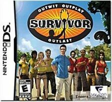 Nintendo DS Video Game Survivor TV Show Outwit Outplay Outlast