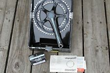 Campagnolo Centaur alloy 10speed crankset with Italian Power Torque cups NEW 175