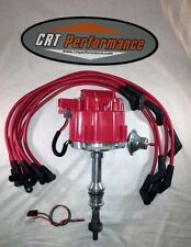 FORD 351W (WINDSOR) RED HEI DISTRIBUTOR + 8.5mm RED HEI SPARK PLUG WIRES