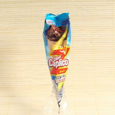 Japan Glico GIANT CAPLICO COOKIE & CRUNCH Chocolate CONE Japanese Candy Snack Z