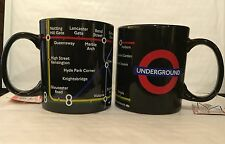 London Underground Logo & Map Designed Ceramic Mug Souvenir Gift