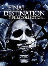 Final Destination: 5 Film Collection (DVD, 2015, 5-Disc Set) - NEW!!