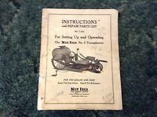 T-162 - A Used Operators Manual For A New Idea No. 5 Transplanter.