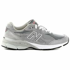 New Balance Mens Made In USA 990 V3 Gray Athletic Running Training Shoes Size 10