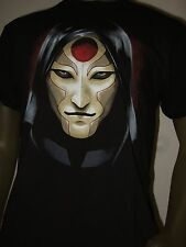 Nwt Men's XL The Legend of Korra Amon Mask Face Nickelodeon Cartoon Tee Shirt XL