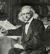 Theodor Mommsen At Home In His Study Charlottenburg 1903 Photo Article 7765