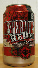 * NEW * DESPERADOS RED  (EMPTY / LEER) BIERDOSE / BEERCAN