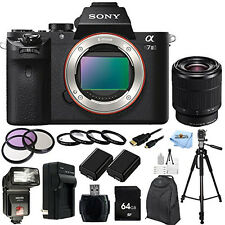 Sony Alpha a7II Mirrorless Digital Camera with FE 28-70mm f/3.5-5.6 OSS Lens KIT
