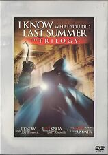 I Know What You Did Last Summer the Trilogy DVD- 3 Discs - Jennifer Love Hewitt
