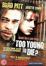 TOO YOUNG TO DIE - 2007 DVD BUNDLE New Sealed - FAST POST UK SELLER - BRAD PITT