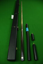 Classic Series 1 Piece Grey Ebony+India Ebony Handmade Snooker Cue Set