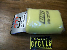 Yamaha  ATMX125  MX125 1972 1973 Air Filter & Cage UNI NU-2209 AHRMA Motocross