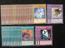 YU-GI-OH 43 CARD ELEMENTAL HERO DECK  *READY TO PLAY*