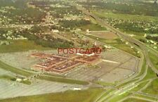 1958 GULFGATE SHOPPING CENTER with HOUSTON Skyline in background TEXAS