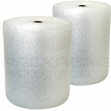 2 Rolls Of Bubble Wrap 750mm x 50m LARGE BUBBLE QUICK DELIVERY