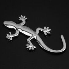 Sticker 3D car tuning chrome EN METAL voiture moto auto LEZARD GECKO SALAMANDRE