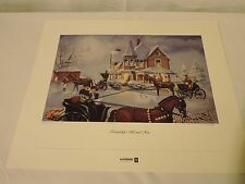 LIMITED EDITION PRINT Friendships Old and New Christmas LeFebure