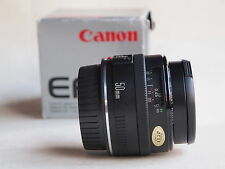 CANON EF 50 mm F1.8 MK 1 LENS + BOX + CAPS 550D 50D 60D 5D   MARK I