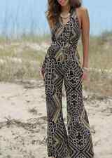 Angelic Tribal Print Jumpsuit NEW size Large Su & Lola Monroe and Main